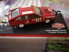 New ListingMiniature car altaya 1/43 alfa romeo gtv6 rally monte carlo 1983