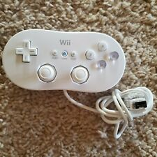 Genuine NINTENDO Wii game console CLASSIC CONTROLLER Official Tested Great!