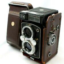 *Rare* Yashica MAT EM TLR Film Camera w/Light Meter *Shutter Working* #TL991