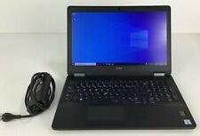 """Dell Latitude E5570 i7-6820HQ 2.7GHz 16GB RAM 256GB SSD 15.6"""" AMD R7 WIFI 10PRO"""