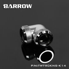 Barrow 90 Degrees Angle Double Compression Fitting For 14mm Rigid Tube Chrome