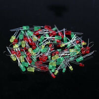 100PCS New LED Round Red Yellow Green Light-emitting Diode Mix Color 3mm 5mm