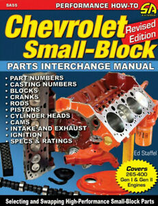 Chevrolet Small-Block Parts Interchange Manual - Revised Edition - Book SA55
