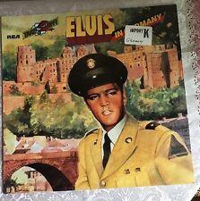 ELVIS PRESLEY -Elvis In Germany -Rare Original RCA German Pressing LP New Sealed