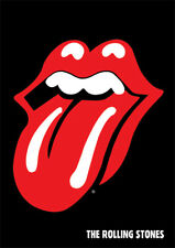 Rolling Stones - Lips - Ready Framed Canvas 85x120cm