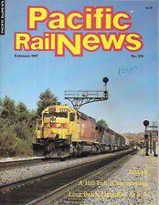Pacific Rail News 279 Feb.1997 DM&E Shortline Long Beach Light Rail D&RGW Ski