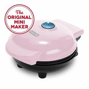 Dash Mini Maker: The Waffle Maker Machine for Individual 4 inch, Pink