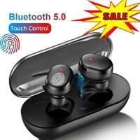 TWS4 Bluetooth 5.0 Drahtlose Kopfhörer Stereo Headset In Kopfhörer Mini Ear A4D8