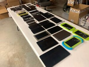 HUGE 32 Tablet Lot Samsung/Digiland/NOOK/RCA/Playtime ***PARTS/REPAIR/BUNDLE***