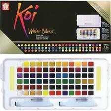 Sakura Koi Watercolor - Studio Set - 72 Half Pan Transparent Colors