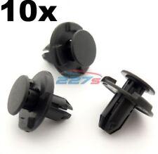 10 x 8mm Fori, Bagagliaio & Baule Guarnizione Clip- per Nissan Qashqai, Juke ,