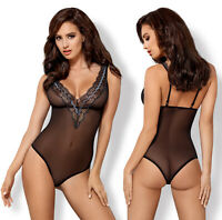 OBSESSIVE 869 Luxury Super Soft Decorative Sheer Body / Teddy