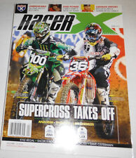 Racer X Magazine Josh Hansen & Ken Roczen & Kyle Regal April 2011 071714R1