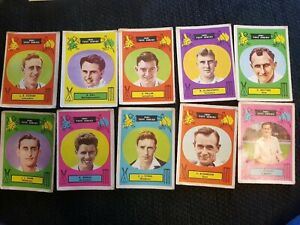 A&BC Gum - 1961 Test Series Cards - Cricketers - Complete Your Set