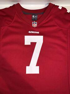 49ERS Nike NFL Kids Jersey Colin Kaepernick Red - Large Kids
