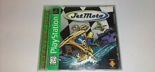 Jet Moto (Sony PlayStation 1, 1997) PS1 Greatest Hits Video Game Complete CIB