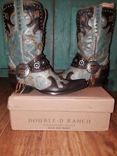 Double D Ranch Ranchitos Ridge Boots by Old Gringo,SZ 6.5- 7