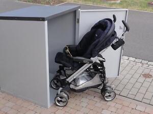 KINDERWAGENBOX  Die Garage für Ihren Kinderwagen