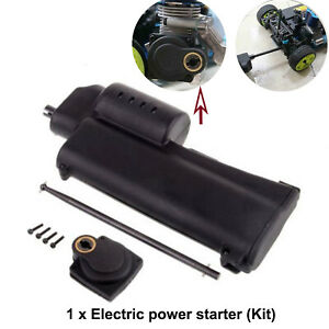 Handheld For 1/10 1/8 HSP REDCAT NITRO RC Car Buggy Electric Power Starter Bar