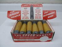 Vintage Speed Corp. Adjustable Universal Multi-Tool Wooden SPEED HANDLE-NOS