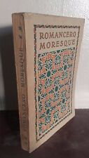 ROMANCERO MORESQUE TRAD:A.ARNOUX/H.PIAZZA PARIS/ 1921/ILLUSTRATIONS MORESQUE BE