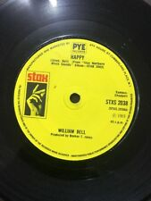 WILLIAM BELL - HAPPY / BRING DOWN THE CURTAIN - STAX. Solid Centre.