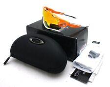 New Authentic Oakley Jaw Break Atomic Orange w Fire Iridium Polarized 929009