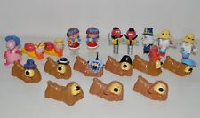 LOT de 19 figurine vintage AB DANOT POLLUX MANEGE ENCHANTE ORTF