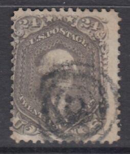 USA Scott #70a  24 cent  Washington brown lilac   HCV $280