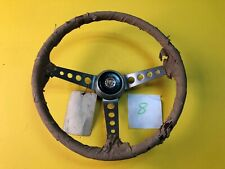 F.I.V. Secura Fiat 1100R 850 124 Wood Steering Wheel NOS Rare