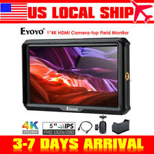 """A5 5"""" HDMI 4K HD Camera-top Monitor 1920x1080 IPS For Sony A6 A7 Canon 5D Nikon"""