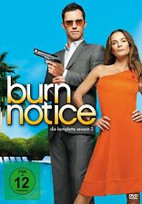 4 DVD-Box ° Burn Notice ° Staffel 2 ° NEU & OVP