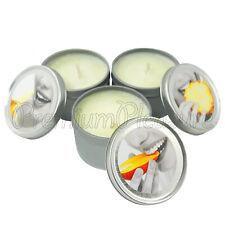 Earthly Body TROPICAL Threesome Massage candle Set Mango Pineapple Banana Gift