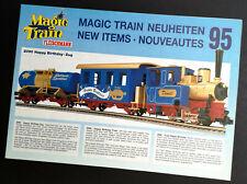 """Fleischmann Produktblatt """"Magic Train, Happy Birthday-Zug"""", Neuheiten 95, Neu!"""