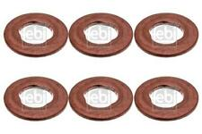 6x Injector Holder Seal for MERCEDES W212 E300 E350 09-on 3.0 CDI D OM642 Febi