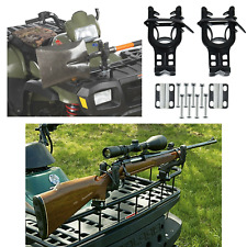 Universal ATV Mount Gun Rifle Rack Bows Shovels Pole UTV Shotgun Holder Single