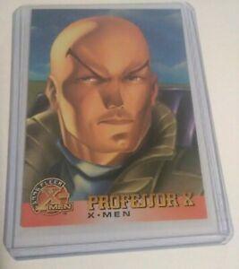 PROFESSOR X FLEER X-MEN 1995 Card Marvel Comics Trading Card #9 [NM 9.8] XAVIER