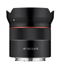 Samyang 18mm F2.8 Full Frame Auto Focus Wide Angle Lens for Sony E  - SYIO18AF-E