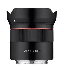 Samyang 18mm F2.8 Full Frame Auto Focus Wide Angle Lens for Sony E  - SYIO18AF-E