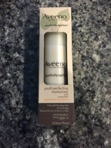 Aveeno Positively Ageless Youth Perfecting Daily Moisturizer with SPF 30 no box