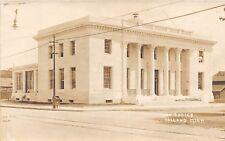 D12/ Holland Michigan Mi Real Photo RPPC Postcard c1910 Post Office Building