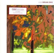 Brian Eno-Lux CD-First edition-includes 4 exclusive prints 2012 Warp-WARPCD231