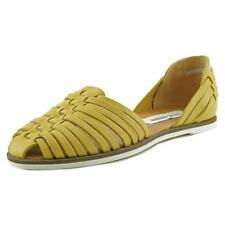 Sandalias con tiras de mujer Steve Madden color principal amarillo