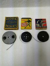 3 HOME MOVIES,(2 CASTLE FILMS, 1 HOLLYHOOD) GOOD COMPLETE CONDITION