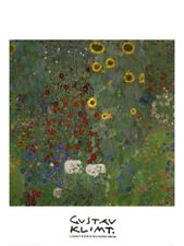 Gustav Klimt Floral Reproduction Art Prints