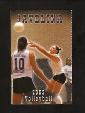 TAMU-Kingsville Javelinas--2003 Volleyball Pocket Schedule