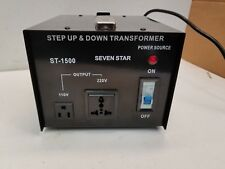 1500 Watt Step Up and Down Electrical Power Voltage Converter Transformer