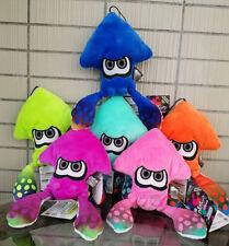 "Set of 6 Color Splatoon Inkling squid 9"" Stuffed Animal Nintendo Game Plush toys"