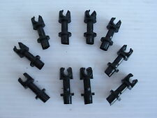 LAND ROVER DEFENDER SINGLE BRAKE PIPE CLIPS NEW - SET OF 10 - CRC1250L