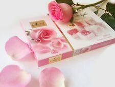 Bulgarian Rose Sweets turkish Delight Lokum with Rose Damascene Petals box 140g